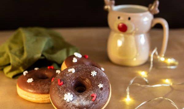 Donuts fit Navideños