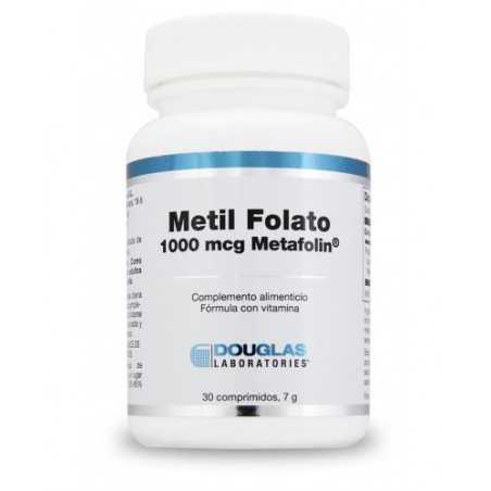 DOUGLAS LABORATORIES METIL FOLATO 1000 MCG METAFOLIN® 30 COMP