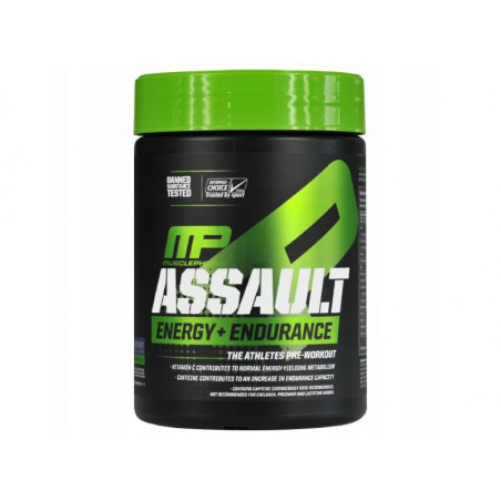 MUSCLEPHARM ASSAULT ENERGY + ENDURANCE 333 GR