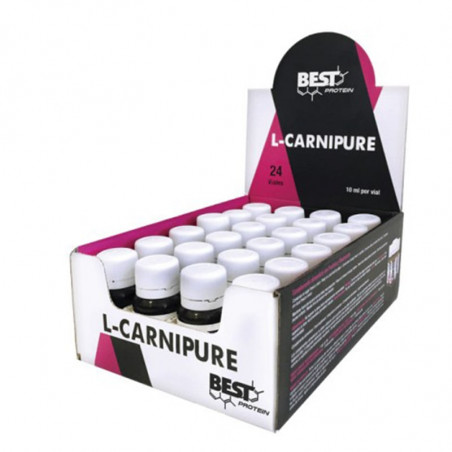 BEST PROTEIN L-CARNIPURE 24 VIALES