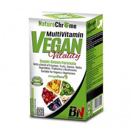 BEVERLY NUTRITION MULTIVITAMIN VEGAN VITALITY 80 CAP