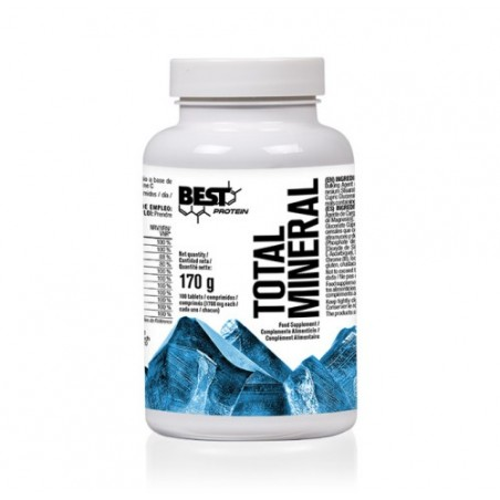 BEST PROTEIN TOTAL MINERAL 100 TABS