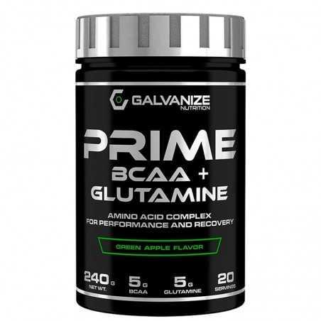GALVANIZE NUTRITION PRIME BCAA+GLUTAMINE 240 GR