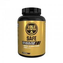 GOLD NUTRITION SAFE 60 CAP