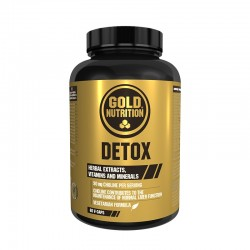 GOLD NUTRITION DETOX 60 V-CAPS