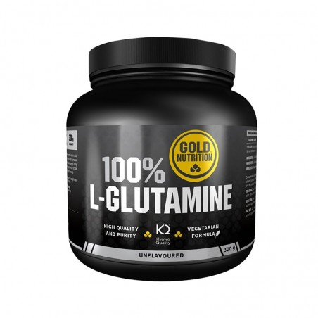 GOLD NUTRITION 100% L-GLUTAMINE 300 GRS