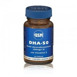GSN DHA-50 60 PERLAS