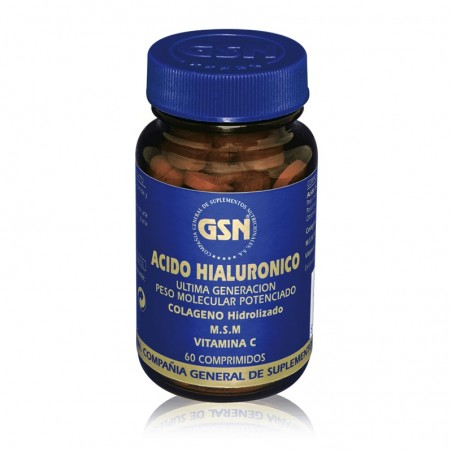GSN ÁCIDO HIALURÓNICO 60 COMP
