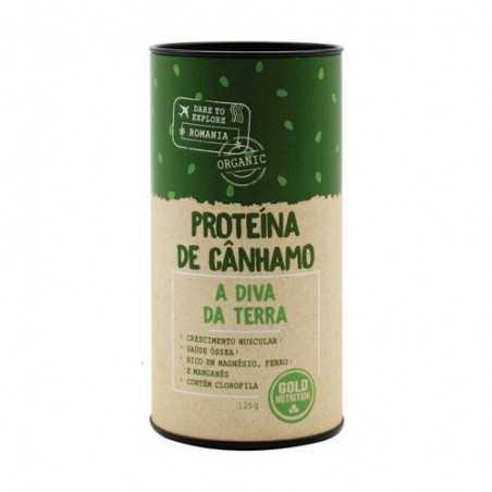 GOLD NUTRITION PROTEINA DE CAÑAMO 125 GR