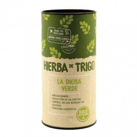 GOLD NUTRITION HIERBA DE TRIGO 125 GR