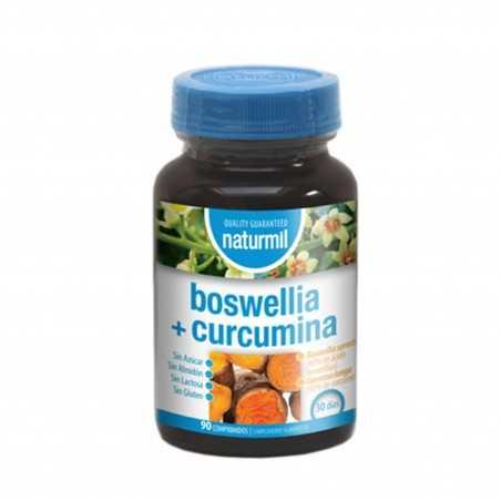 NATURMIL BOSWELLIA+CURCUMINA 90 COMP