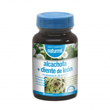 NATURMIL ALCACHOFA + DIENTE DE LEÓN 60 COMP