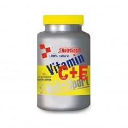 NUTRISPORT VITAMIN C+E 60 COMP
