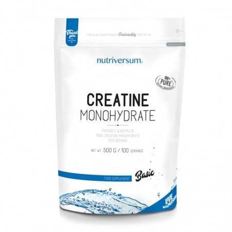 NUTRIVERSUM CREATINE MONOHYDRATE 500 GR
