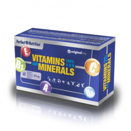 PERFECT NUTRITION VITAMINS AND MINERALS 60 CAPS