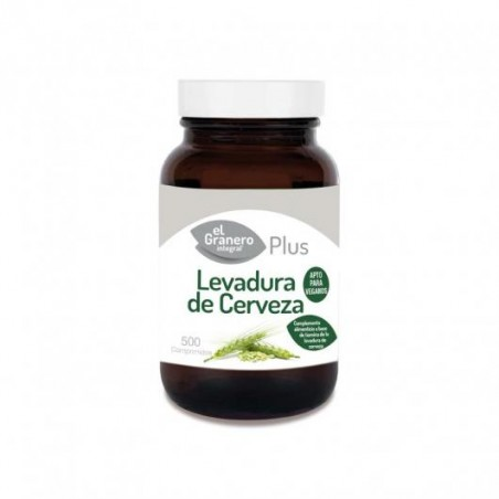 EL GRANERO LEVADURA DE CERVEZA 500 COMP