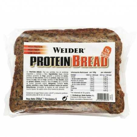 WEIDER PROTEIN BREAD 250 GRS