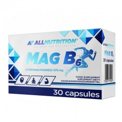 ALL NUTRITION MAG B6 30CAP