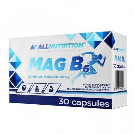 ALL NUTRITION MAG B6 30CAP
