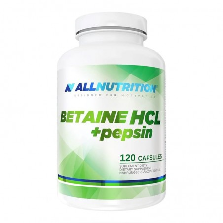 ALL NUTRITION BETAINE HCL + PEPSIN 120CAP