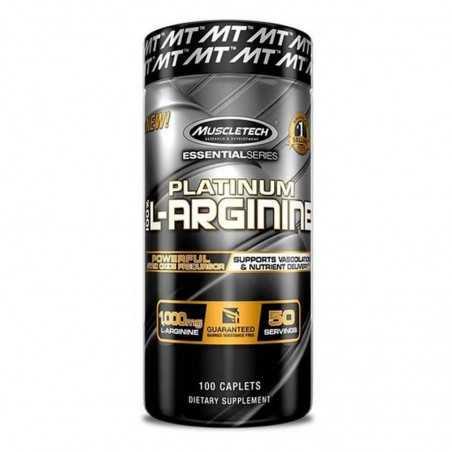 MUSCLETECH PLATINUM L-ARGININE 100CAP