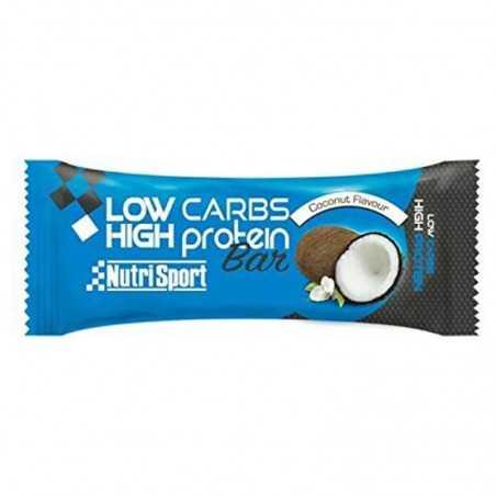 NUTRISPORT LOW CARBS HIGH PROTEIN BAR 60 GR
