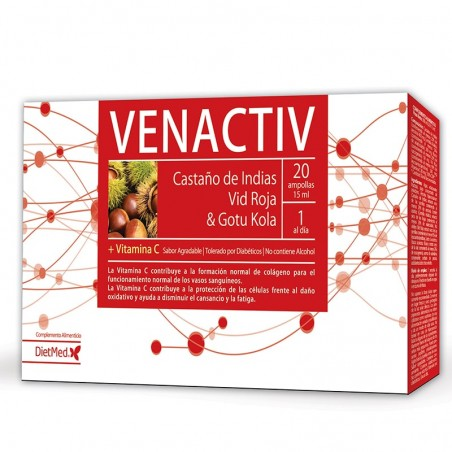 DIETMED VENACTIV 20 AMPOLLAS