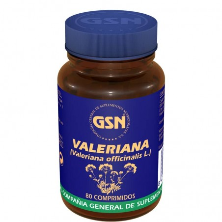 GSN VALERIANA 80COMP 534MG