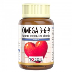 TONGIL OMEGA 3-6-9 60PERLAS
