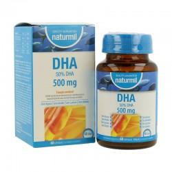 NATURMIL DHA 500MG 60CAPS