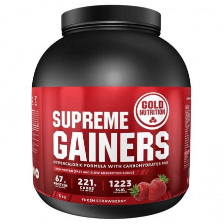 GOLD NUTRITION SUPREME GAINERS 3KG