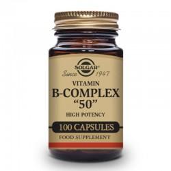 """SOLGAR B-COMPLEX """"50"""" 100CAP"""
