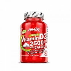 AMIX VITAMINA D3 2500 I.U +...