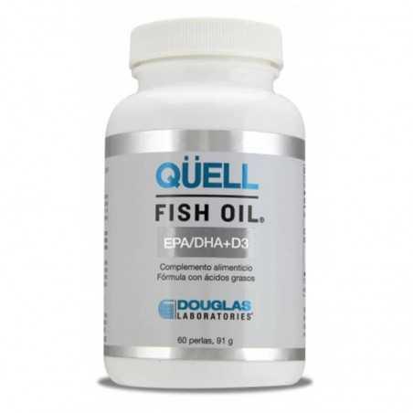 DOUGLAS LABORATORIES QÜELL FISH OIL EPA/DHA + D3 60 PERLAS