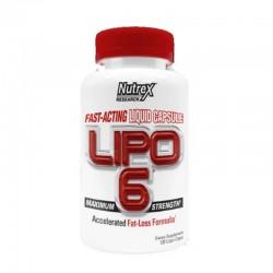 NUTREX LIPO 6 120 LIQUID CAPS