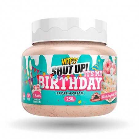 MAX PROTEIN WTF SHUT UP IT'S MY BIRTHDAY