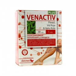 DIETMED VENACTIV PLUS 30CAP