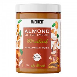 WEIDER ALMOND BUTTER SMOOTH...