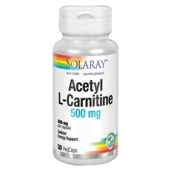 SOLARAY ACETYL L-CARNITINA...