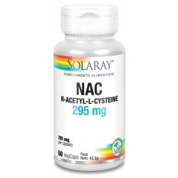 SOLARAY NAC 295MG 60VCAPS