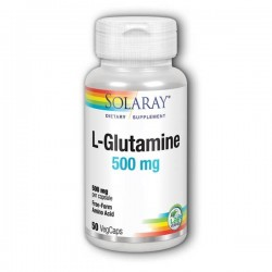 SOLARAY L-GLUTAMINE 500MG...