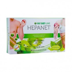 WAY DIET HEPANET 20AMP x10ML