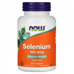 NOW FOODS SELENIUM 100MCG...