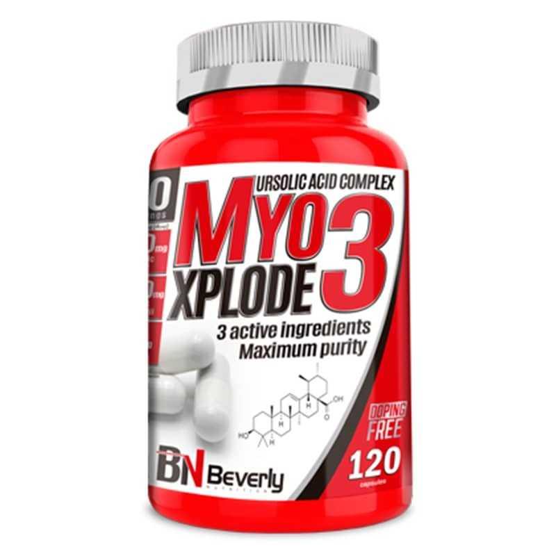 BEVERLY NUTRITION MYO3 XPLODE 120 CAP.