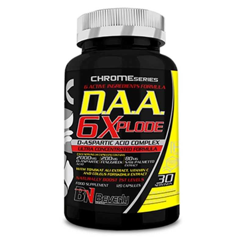 BEVERLY NUTRITION D.A.A.6 XPLODE 120 CAP