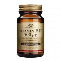 SOLGAR VITAMIN B12 500MCG...