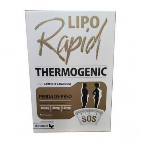 DIETMED LIPORAPID THERMOGENIC 30CAP