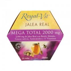 DIETISA ROYAL-VIT JALEA REAL MEGA TOTAL 2000MG 20VIALES