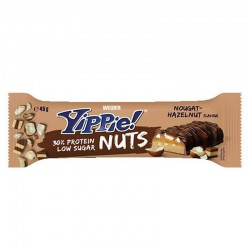 WEIDER YIPPIE BAR NUTS 45GR