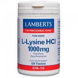 LAMBERTS L-LISINA HCL 100MG...